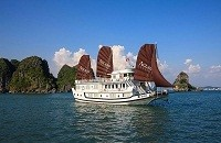 Aclass Legend Junk Halong Bay